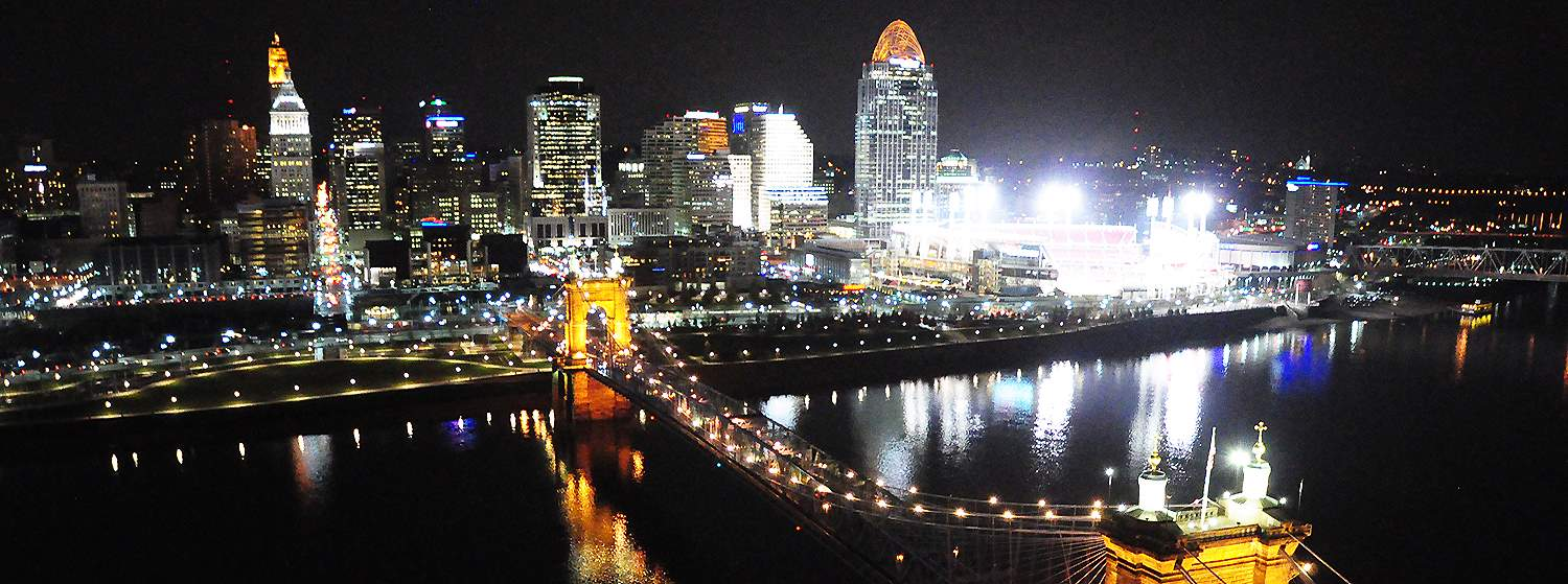 Scenic View of Cincinnati